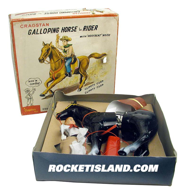 Cragstan Galloping Horse and Rider