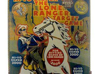 Marx Lone Ranger Target Game