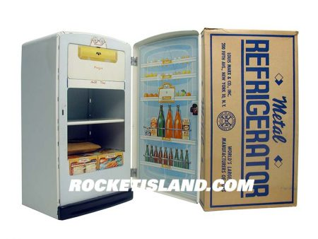 Marx Toy Refrigerator
