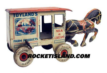 Marx Toyland Milk Wagon