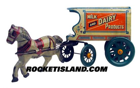 Milk and Dairy Products Wagon