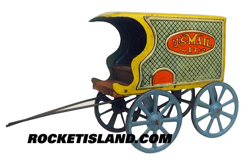 US Mail Wagon