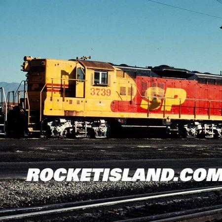 Southern Pacific Merger Scheme GP9 3739