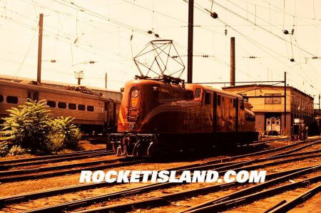 Pennsylvania Railroad GG-1 4877