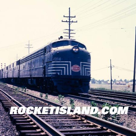 New York Central E8A 4094 at speed