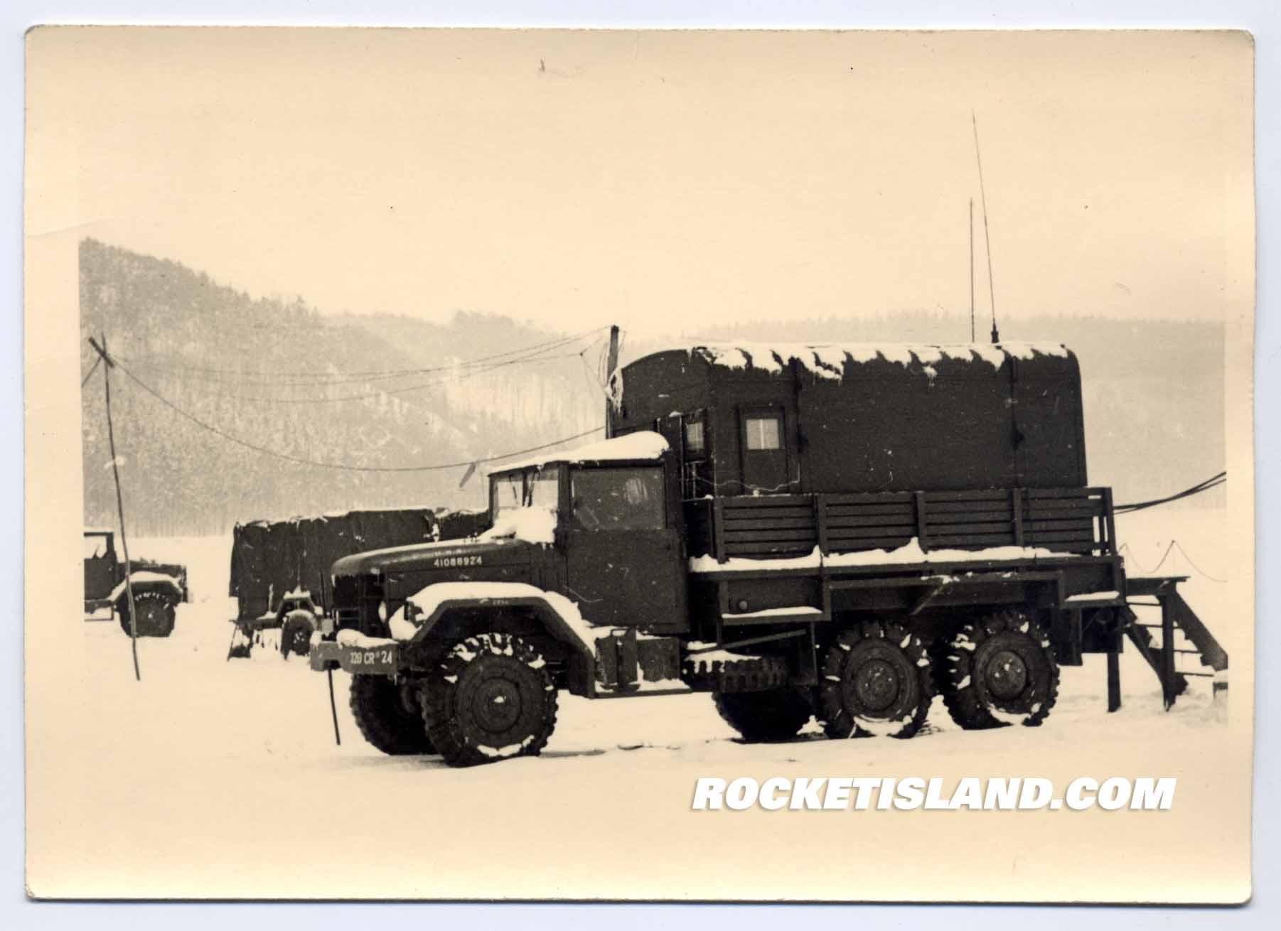 US Army Dodge Power Wagon in Snow Duty
