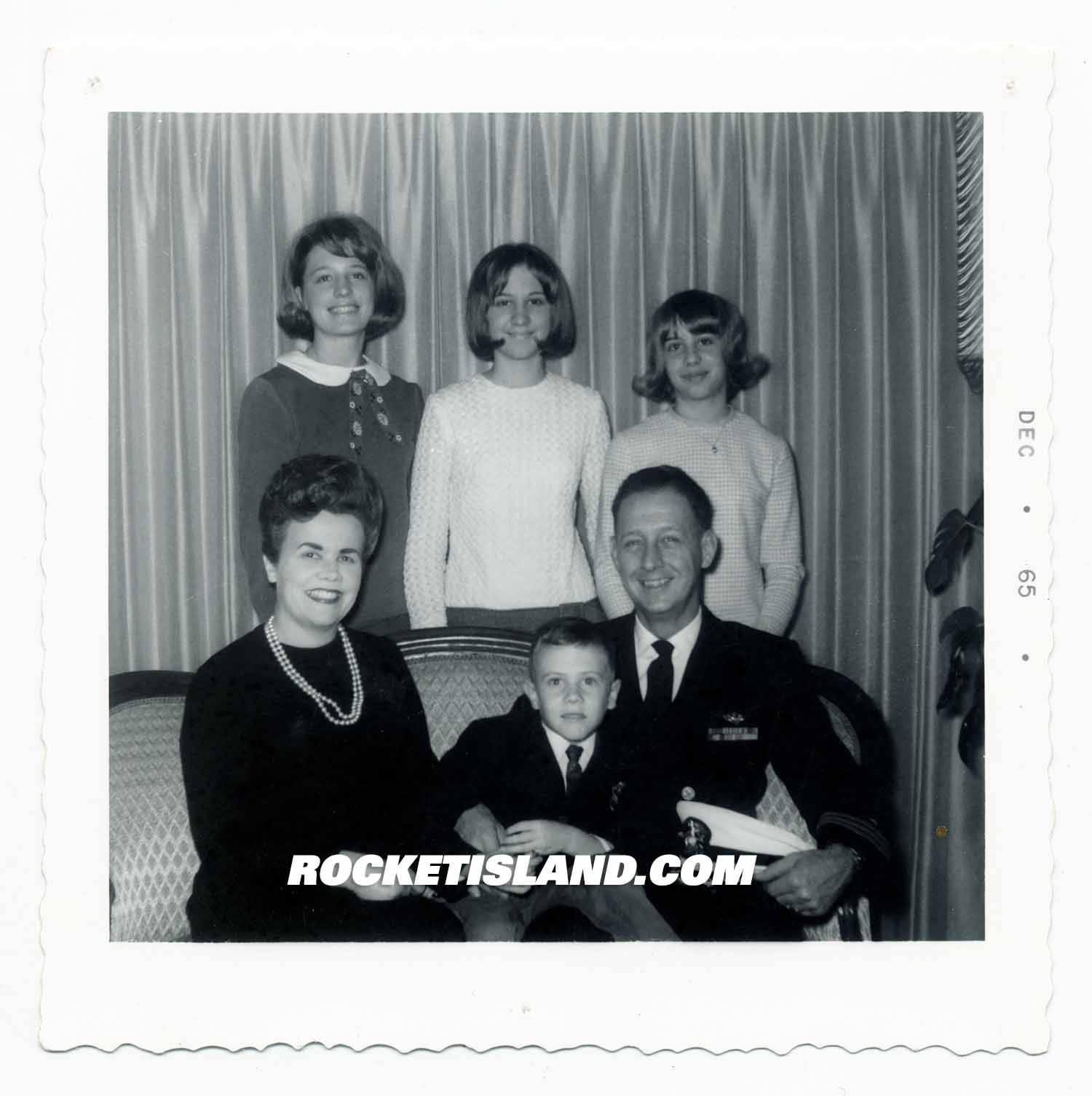 American Naval Family 1965