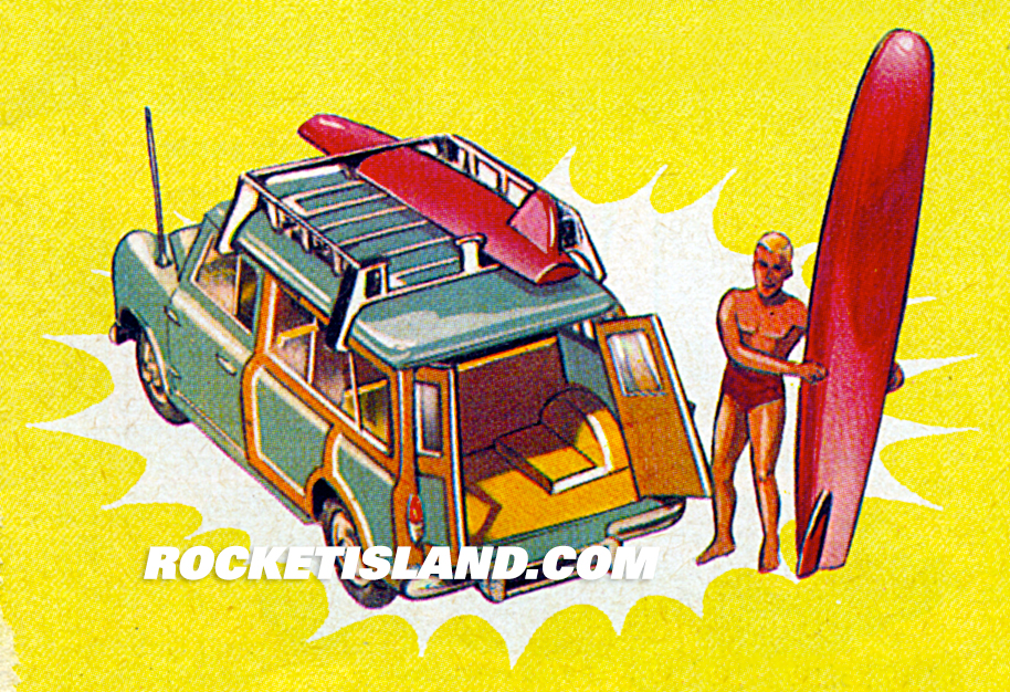 Corgi Austin Mini Countryman Catalog Art
