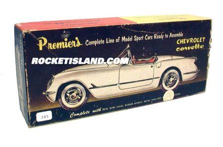 Premier Chevrolet Corvette Plastic Model Kit